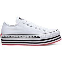 Idealo ES|Converse Chuck Taylor All Stars Play Platform white/black/white