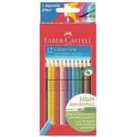 Faber-Castell Colour Grip 2001 Coloured Pencils - Pack of 12