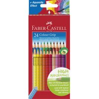 Faber-Castell Colour Grip 2001 Coloured Pencils - Pack of 24