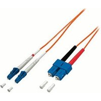 Equip LWL Patch Cable LC/SC 62,5/125 OM1 - 3,0m