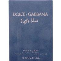 D&G Light Blue pour Homme Eau de Toilette (75ml)