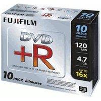 Fuji Magnetics DVD+R 4,7GB 120min 16x 10pk Slim Case