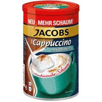 Jacobs Cappuccino Coffee decaffeinated, tin