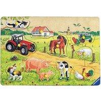 Ravensburger Farm (Wooden Puzzle)