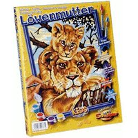 Schipper Painting by Number Lioness with Offspring