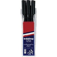 edding 1255 Callygraphy Pen - Pack of 3