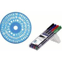 Staedtler CD/DVD Markers - Pack of 4