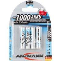 Ansmann 4x AAA 1000mAh / HR03 (5030882)