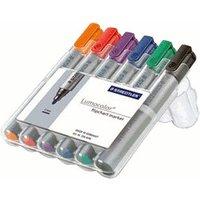 Staedtler Lumocolor Flipchart Marker - Pack of 6