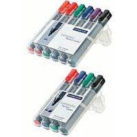 Staedtler Lumocolor Flipchart-Marker B (pack of 4)