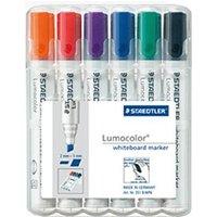 Staedtler Lumocolor Whiteboard-Marker B (pack of 6)