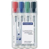 Staedtler Lumocolor Whiteboard-Marker 351B (pack of 4)