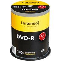 Intenso DVD-R 4,7GB 120min 16x 100pk Spindle