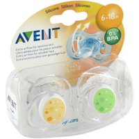 Avent Dummy Freeflow Trend Silicone 6-18m