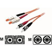 EFB Elektronik ecoFiber LWL Cable Duplex ST/SC 50/125 2m