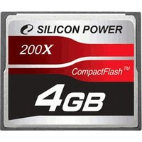 Silicon Power Compact Flash 16GB 200x (SP016GBCFC200V10)