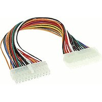 InLine Mainboard cable, ATX 24pin M/F, 0.3m (26629)