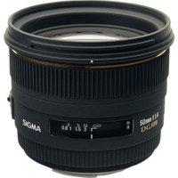 Sigma 50mm f/1.4 EX DG HSM Canon