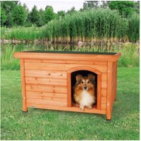 Trixie Natura Flat Roof Kennel, 85 × 58 × 60 cm