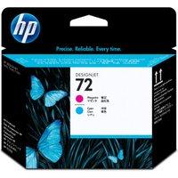 HP No. 72 (C9383A) Magenta+Cyan