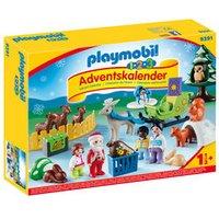 PLAYMOBIL® 9391 1.2.3 Adventskalender Waldweihnacht der Tiere