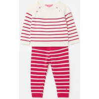 Georgia Knitted Top and Trousers Set 0-24 Months