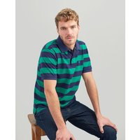 GREEN NAVY STRIPE Filbert Striped Classic Fit Polo