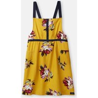 Gold All Over Floral Kitchen Cross Over Apron  Size One Size