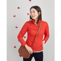 Red Elodie Quilted Jacket  Size 8