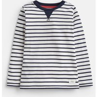 CREAM STRIPE 204637 Mock Layer Stripe Tee  Size 3yr