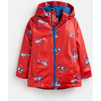 Red Planes Skipper Showerproof Rubber Coat 1-6 Years  Size 3Yr