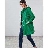 Pine Green Quayside Waterproof Raincoat  Size 16