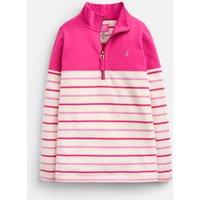 Pink Multi Stripe 207109 Half Zip Sweatshirt  Size 3Yr