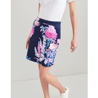 NAVY FLORAL Portia print Jersey Skirt  Size 10