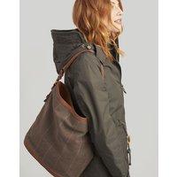 Chesham tweed Bucket Bag