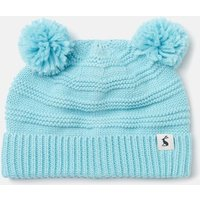 Pom Pom Organically Grown Cotton Knitted Hat