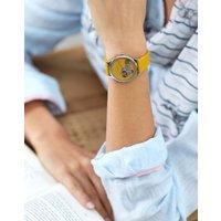 Gold Dachshund Ryton Gold Dachshund Ladies Silicone Strap Watch  Size One Size