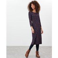 Casey Print Jersey Dress