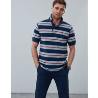 Navy Marl Stripe Filbert Striped Classic Fit Polo  Size Xxl
