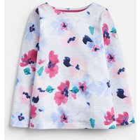 204818 Girls Printed Jersey Top