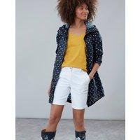 Navy Spot Golightly Print Waterproof Packaway Jacket  Size 12