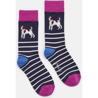 NAVY TERRIER Brilliant bamboo Socks  Size One Size