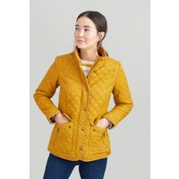 Caramel Newdale Quilted Coat  Size 10