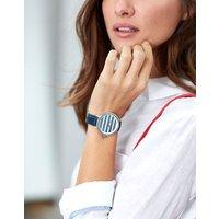 Navy Stripe Raindale Navy Womens Coast Style Watch  Size One Size