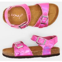 BRIGHT METALLIC PINK 204698 Printed Sandals  Size Childrens 13