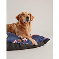 Navy Floral Floral Restwell Pet Bed  Size L