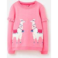 Tiana Frill Sleeve Sweatshirt 1-12 Years