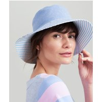 CHAMBRAY Celia Cotton Sun Hat  Size One Size