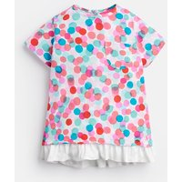 Multi Fairy Spot Lulabelle Jersey Printed T-Shirt 1-6Yr  Size 1Yr