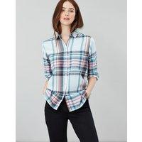 Lorena Longline Brushed Woven Shirt
